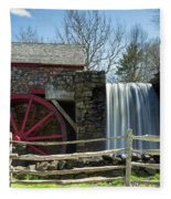 Grist Mill 5 Fleece Blanket