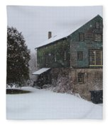 Grist Mill Of Port Hope Fleece Blanket