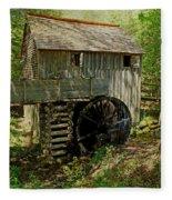 Grist Mill Fleece Blanket