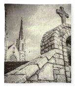 Gritty Faith Fleece Blanket
