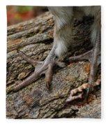 Grouse Feet Fleece Blanket