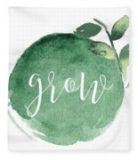 Grow Fleece Blanket
