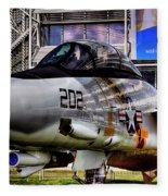 Grumman F-14a Tomcat Fleece Blanket