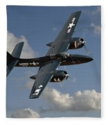 Grumman Tigercat Fleece Blanket