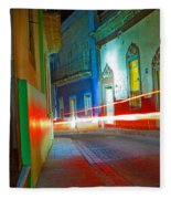 Guanajuato Night Fleece Blanket
