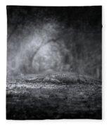 Guardian Of The Forest Fleece Blanket