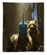 Guardians Of The Galaxy Vol. 2 Fleece Blanket