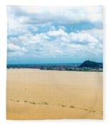 Guayas River View Fleece Blanket