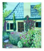 Guest Cottage Fleece Blanket