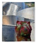 Guggenheim Museum Bilbao - 2 Fleece Blanket