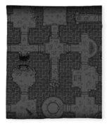 Guild Of Dungeoneering Fleece Blanket