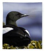 Guillemot A Miroir Fleece Blanket