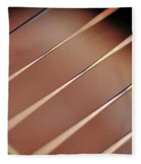 Guitar Abstract 2 Fleece Blanket