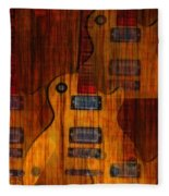 Guitar Army Fleece Blanket