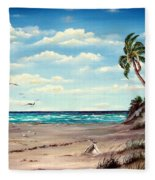 Gulf Dunes Fleece Blanket