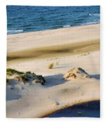 Gulf Of Mexico Dunes Fleece Blanket
