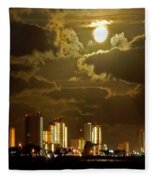 Gulf Shores Night Skys Fleece Blanket