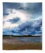 Gulf Storm Fleece Blanket