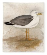 Gull Fleece Blanket