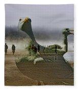 Gulls Dream Fleece Blanket