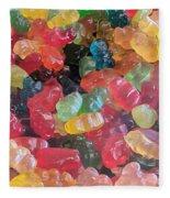Gummy Bears Fleece Blanket