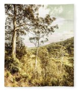 Gumtree Bushland Fleece Blanket