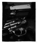 Guns And More Guns Fleece Blanket