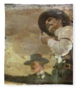 Gunslinger II Doc Holliday Fleece Blanket
