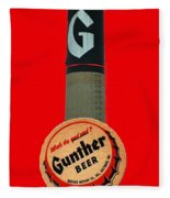 Gunther Beer Fleece Blanket