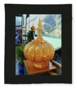 Gurdwara Dome Fleece Blanket