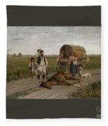Gypsies Fleece Blanket