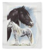 Gypsy Cob  Fleece Blanket