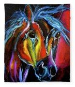 Gypsy Equine Fleece Blanket