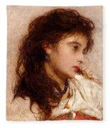 Gypsy Girl Fleece Blanket
