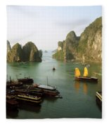 Ha Long Bay Fleece Blanket