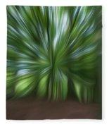 Haagse Bos. Oil Painting Effect. Fleece Blanket