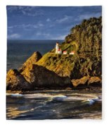 Haceta Head Light 2 Fleece Blanket