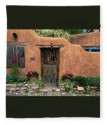Hacienda Santa Fe Fleece Blanket