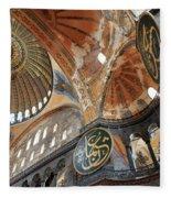 Hagia Sophia Dome II Fleece Blanket