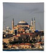 Hagia Sophia - Istanbul Turkey Fleece Blanket
