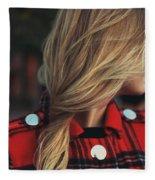 Hair Fleece Blanket