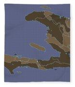 Haiti Cheri Fleece Blanket