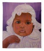 Haitian Baby Orphan Fleece Blanket