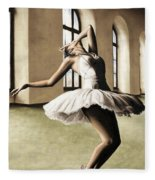 Halcyon Ballerina Fleece Blanket