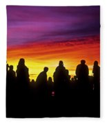 Haleakala Color Show Fleece Blanket