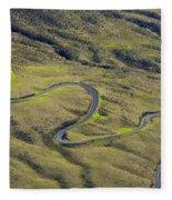Haleakala Highway Fleece Blanket