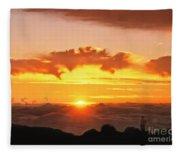 Haleakala National Park Memories Fleece Blanket