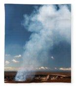 Halemaumau Crater 2016 Fleece Blanket
