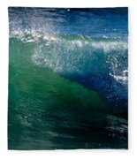 Half Cresting Wave Fleece Blanket