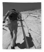 Half Dome Cables Fleece Blanket